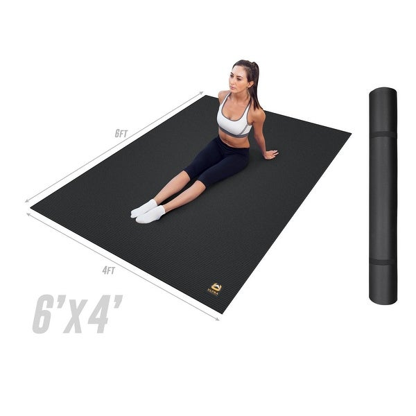 Shop Ultra Fitness Gear Extra Thick 6ftxft Exercise Mat