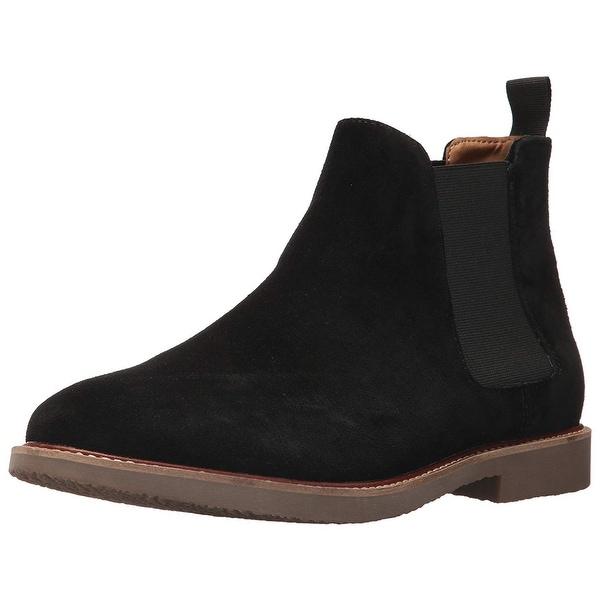 3742e7bc3 Shop Steve Madden Mens Highline Leather Round Toe Ankle Chelsea ...