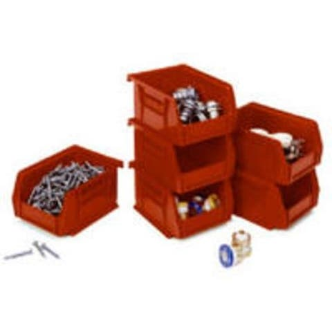 Quantum RQUS210RD Red Storage Bin