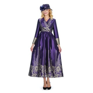 Link to Giovanna Collection Women's Jacquard on Virtual Silk Pleated Long Dress Similar Items in Suits & Suit Separates
