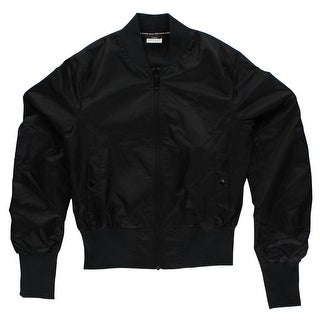 Puma Mens Iridescent Bomber Jacket Black