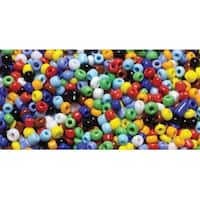 11/0 Assorted Color Seed Beads - Jewelry Basics Glass Seed Beads 1.1Oz