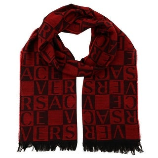 Versace IT00643 100% Wool Mens Scarf
