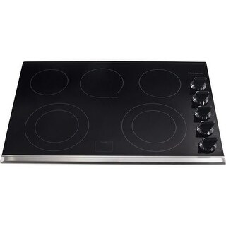"""Frigidaire FGEC3067M 30"""" Electric Cooktop with Hot Surface Indicators"""