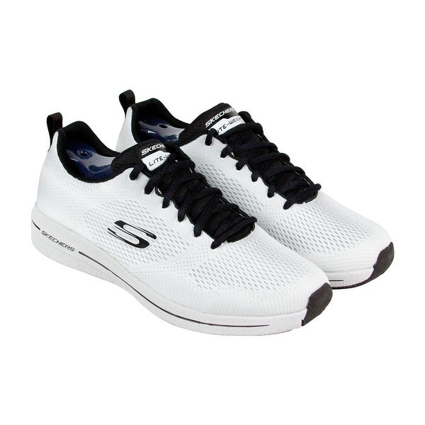 0b911e93a279 Skechers Burst 2.0 Debore Mens White Mesh Athletic Lace Up Training Shoes