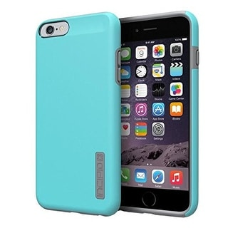 Incipio DualPro Case Cover for Apple iPhone 6 Plus (Cyan/Charcoal) - IPH-1195-CY