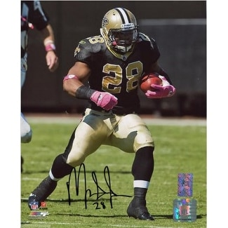 d089432ce Shop Mark Ingram signed New Orleans Saints 8x10 Photo 28 Black Jersey run  Ingram Hologram - Free Shipping Today - Overstock - 19870134