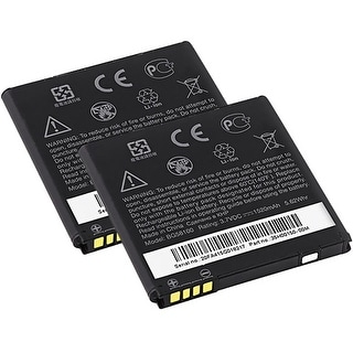 Replacement BG58100 Battery f/ HTC G14 / PYRAMID Phone Models (2 Pack)