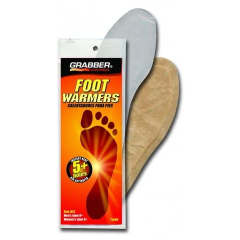 Grabber FWMLES Full Insole Foot Warmers, Medium/Large, 5+ Hours