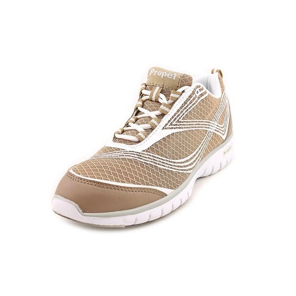 Propet Travellite Women Taupe Running Shoes
