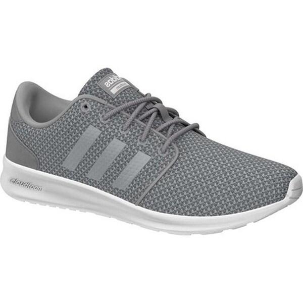 9c32434ae451 ... Women s Shoes     Women s Sneakers. adidas Women  x27 s Cloudfoam QT  Racer Sneaker Light Granite Silver Met . Click to Zoom
