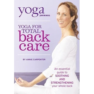Yoga Journal-Yoga for Total Back Care [DVD]
