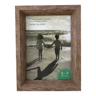 """8.25"""" Classical Rectangular Photo 5"""" x 7"""" Picture Frame - Brown - 5-inchx7-inch"""