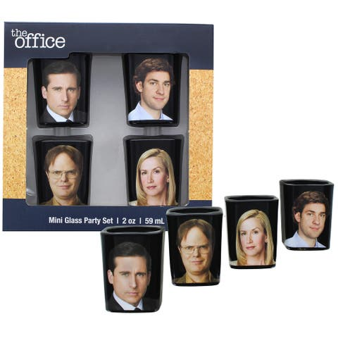 The Office Character Shot Glass Drinking Game