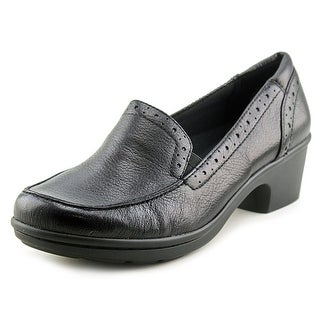 Easy Spirit Leoda W Round Toe Leather Loafer