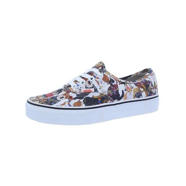 93e9fd9558c Shop Vans Womens Authentic ASPCA Skate Shoes Low Top Trainer - Ships ...