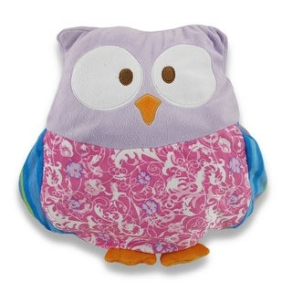 Incredibly Cute Plush Floral Owl Decorative Throw Pillow - Purple|https://ak1.ostkcdn.com/images/products/is/images/direct/81eb2cffa78e562152887b618da5aa93e48ca130/Incredibly-Cute-Plush-Floral-Owl-Decorative-Throw-Pillow---Purple.jpg?_ostk_perf_=percv&impolicy=medium