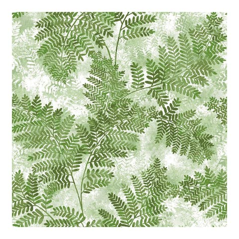 Cyathea Green Fern Wallpaper - 21 x 396 x 0.025