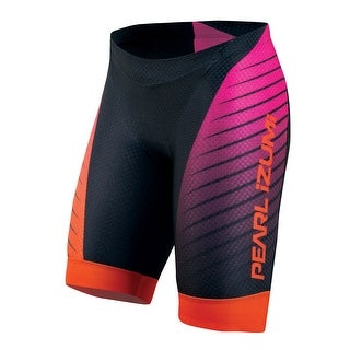 Pearl Izumi 2015/16 Women's P.R.O. In-R-Cool Triathlon Shorts - 13211401 - Black/Hot Pink