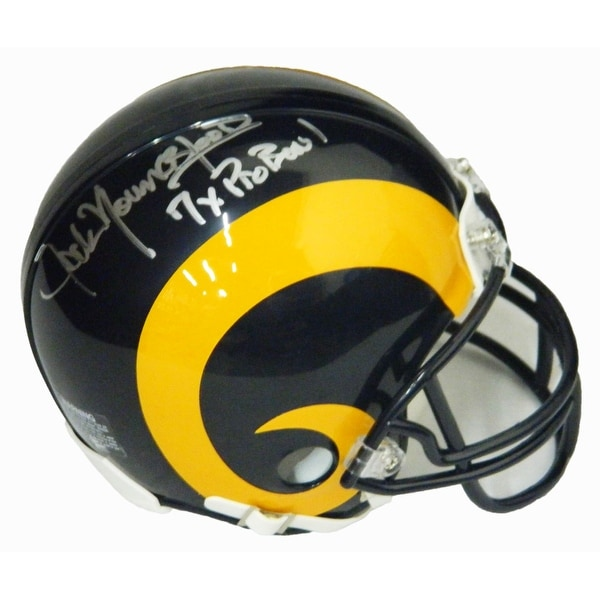 the latest ee1a9 0808b Jack Youngblood Los Angeles Rams Throwback Riddell Mini Helmet w7x Pro Bowl
