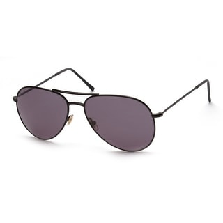 Gucci Men's Women's Unisex Aviator Sunglasses 1287/S Black - Small