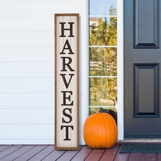 Link to Glitzhome Garden Outdoor Wooden Porch Sign Similar Items in Bedroom Furniture