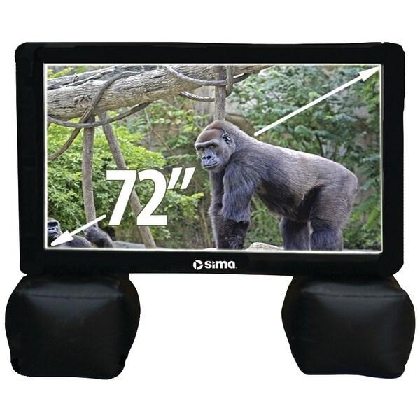 """Sima Si-6 72"""" Indoor/Outdoor Inflatable Screen"""