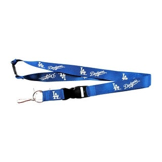 LOS Angeles Doders Clip Lanyard Keychain Id Ticket MLB - Blue