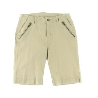 Nitrogen Womens Denim Shorts High Rise Bermuda