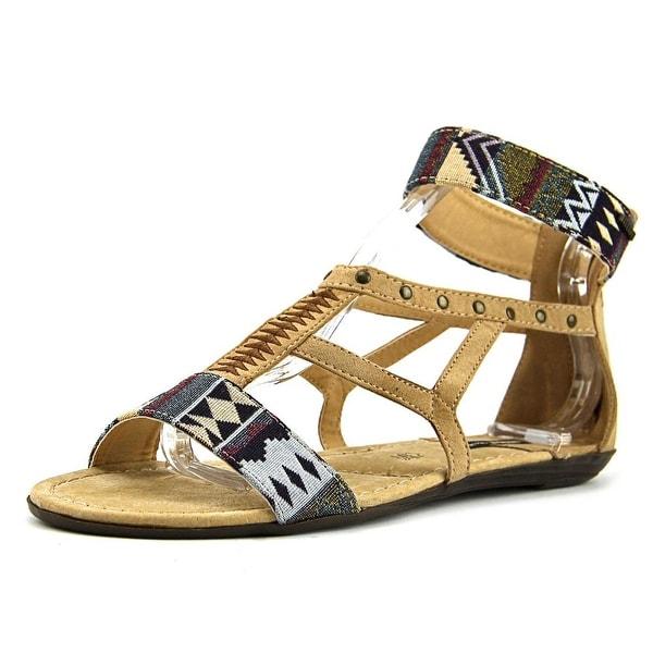 MTNG 53535 Women Tribal Beige Sandals