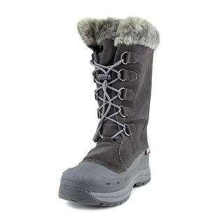 Baffin Judy Women 3A Round Toe Suede Gray Snow Boot
