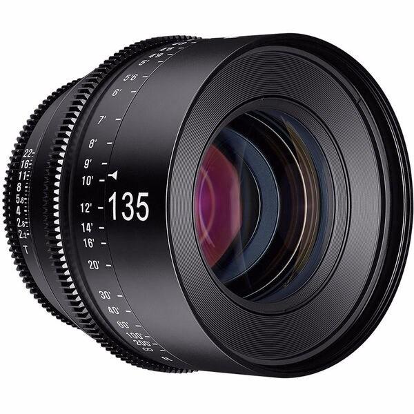 Rokinon Xeen 135mm T2.2 Lens with Nikon F Mount - black