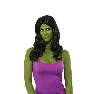 She- Hulk Costume Wig Adult One Size