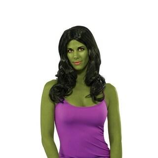 She- Hulk Costume Wig Adult One Size - Green