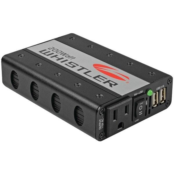 Whistler Xp200I 200-Watt Power Inverter