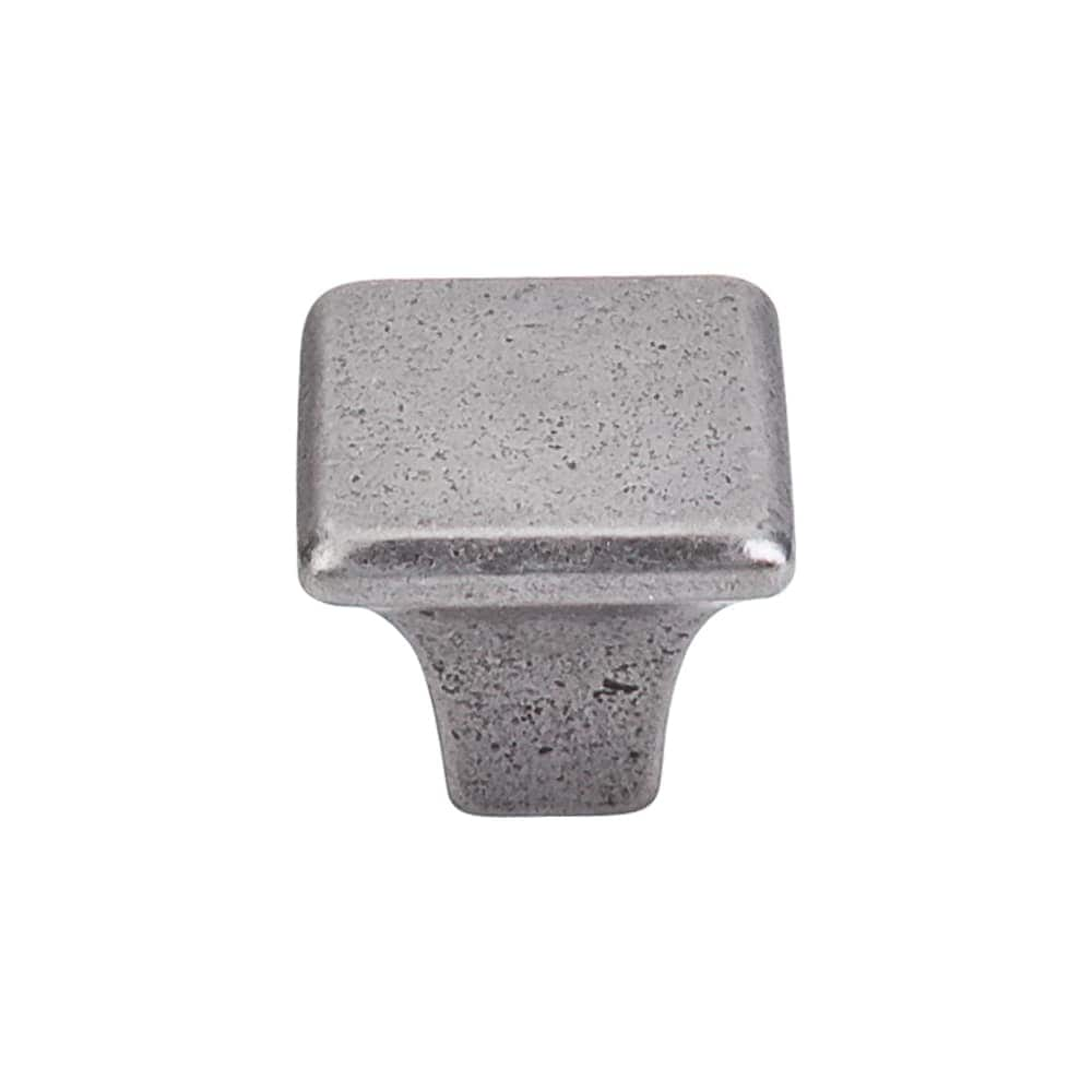 Top Knobs M1809  Square 1-3/16 Square Cabinet Knob from the Britannia Collection - Cast Iron