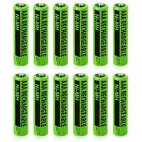 NiMH AAA Batteries (12-Pack) NiMh AAA Batteries 2-Pack