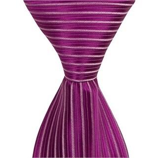 L7 - 9.5 in. Zipper Necktie - Purple, 6 to 18 Month