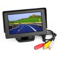 """Unique Bargains 4.3"""" TFT LCD Car Monitor for Reverse Rearview Back Up Color Camera"""