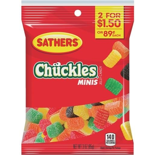Good 3Oz Mini Chuckles 10313 Unit: EACH Contains 12 Per Case   Free Shipping On  Orders Over $45   Overstock.com   23784483