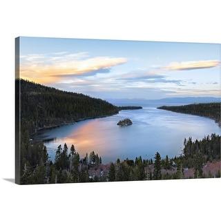 """Lake Tahoe, California"" Canvas Wall Art"