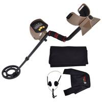 Costway Professional Metal Detector Underground Search Gold Digger Hunter 8.3'' MD-6200 - Black