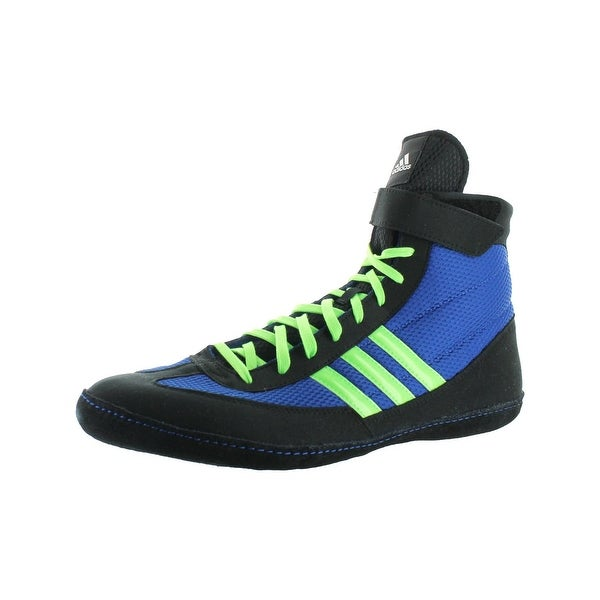 Adidas Mens Combat Speed 4 Wrestling Shoes Mesh Striped