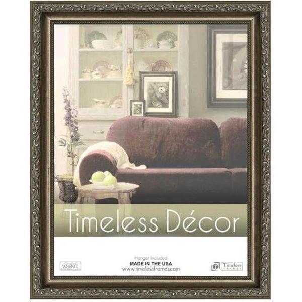 Timeless Frames 78083 Carrington Pewter Wall Frame 12 X 18 In