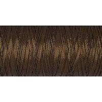 Burnt Brown - Gutermann Dekor Metallic Thread 200M