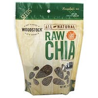 Woodstock Black Chia Seeds - Case of 6 - 7 oz.