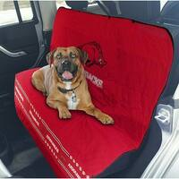 Pets First Collegiate Arkansas Razorbacks Pet Car Seat Cover