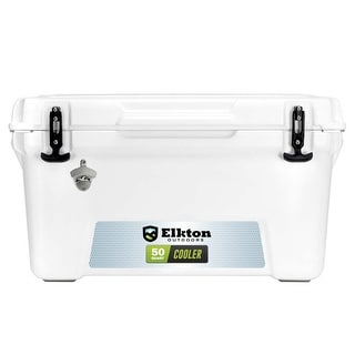 Elkton Outdoors 50Q Ultra-Rugged Hunting & Fishing Cooler