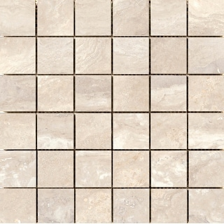 Emser Tile F14QUES1212MOP  Quest - Square Mosaic Floor and Wall Tile - Polished Marble Visual