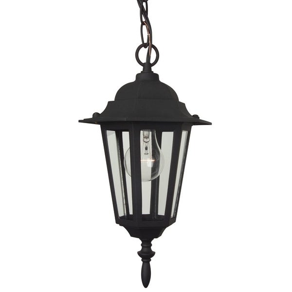 "Craftmade Z151 Hex 1-Light Lantern Outdoor Pendant - 8"" Wide - n/a"